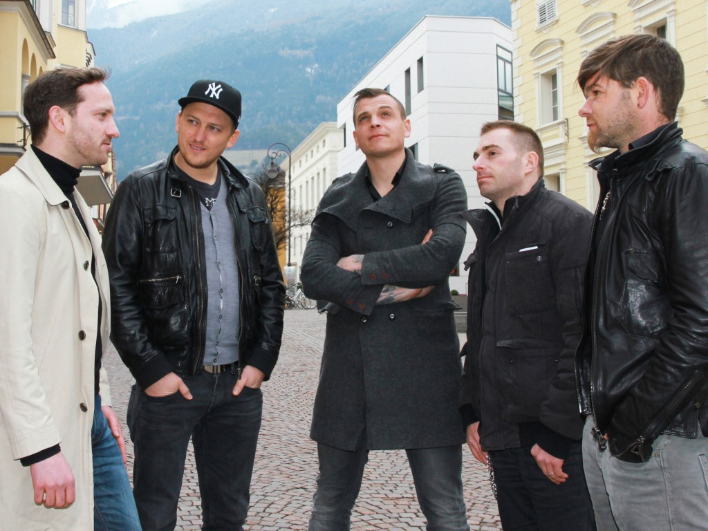 Band Freiwild mit Journalist Jan-Philipp Hein